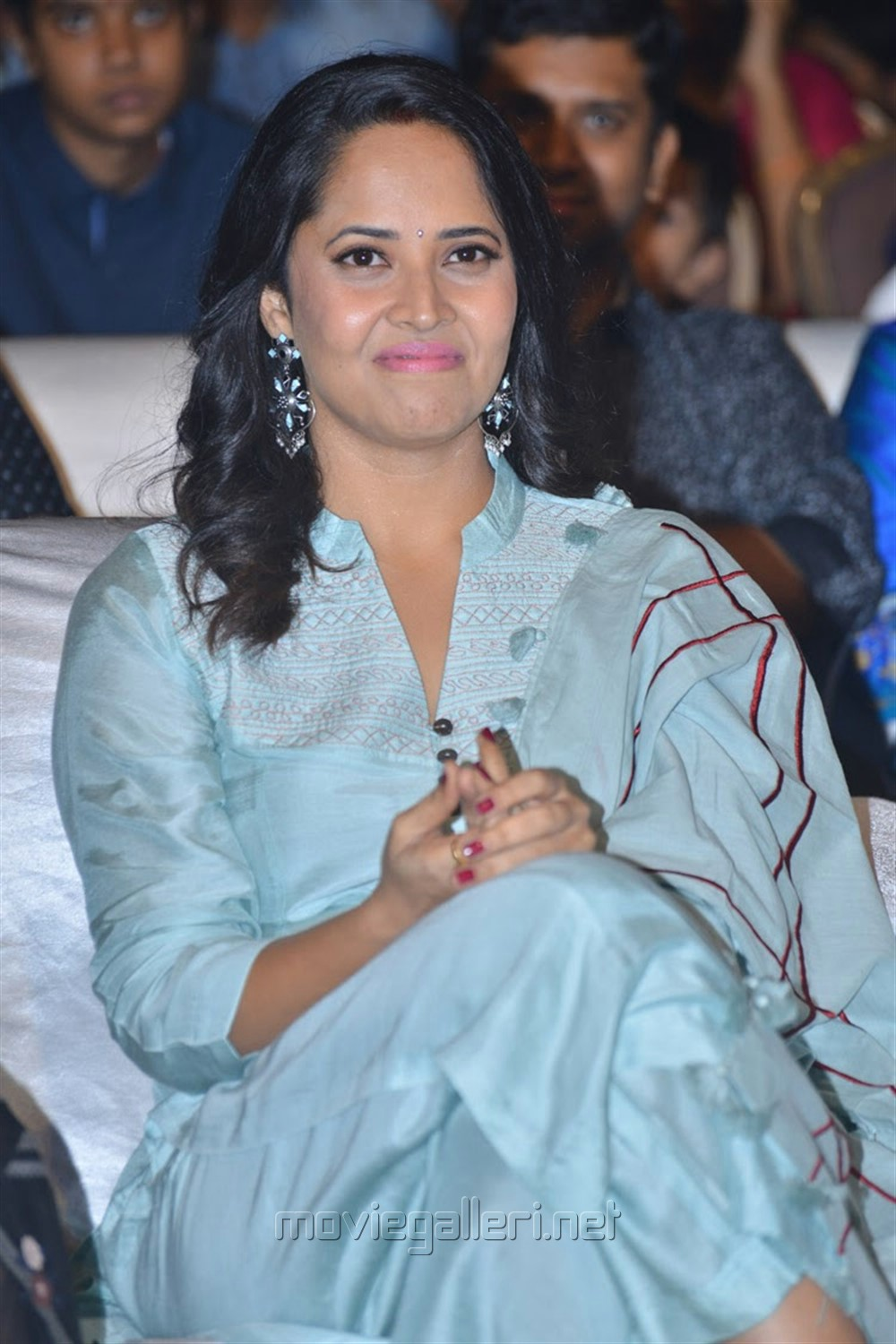Anasuya @ F2 Movie Success Meet Stills