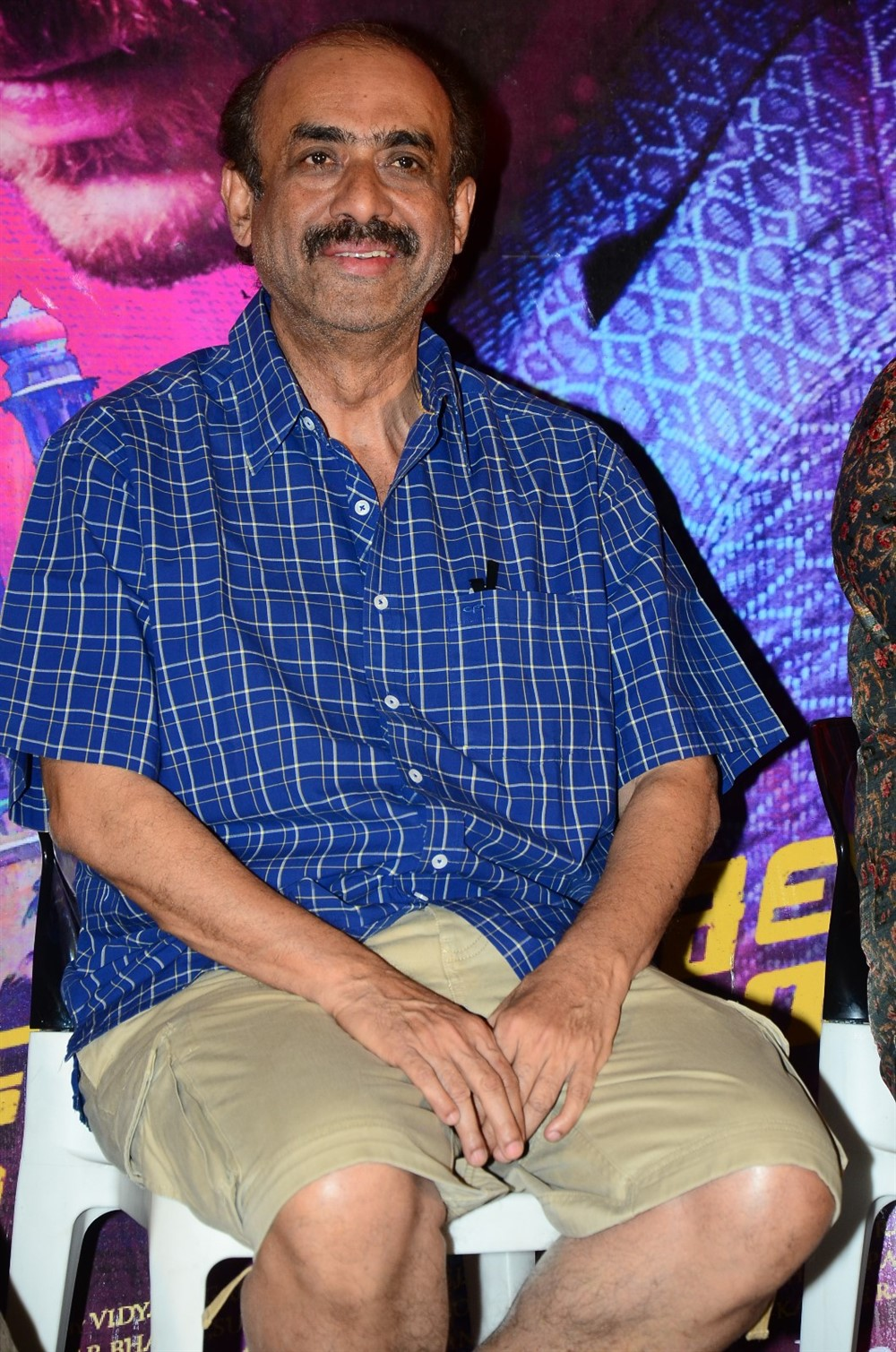 D Suresh Babu @ Falaknuma Das Movie Press Meet Stills