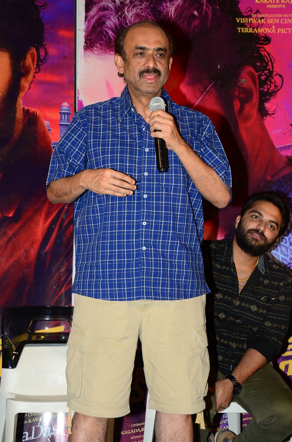 D Suresh Babu @ Falaknuma Das Movie Press Meet Stills