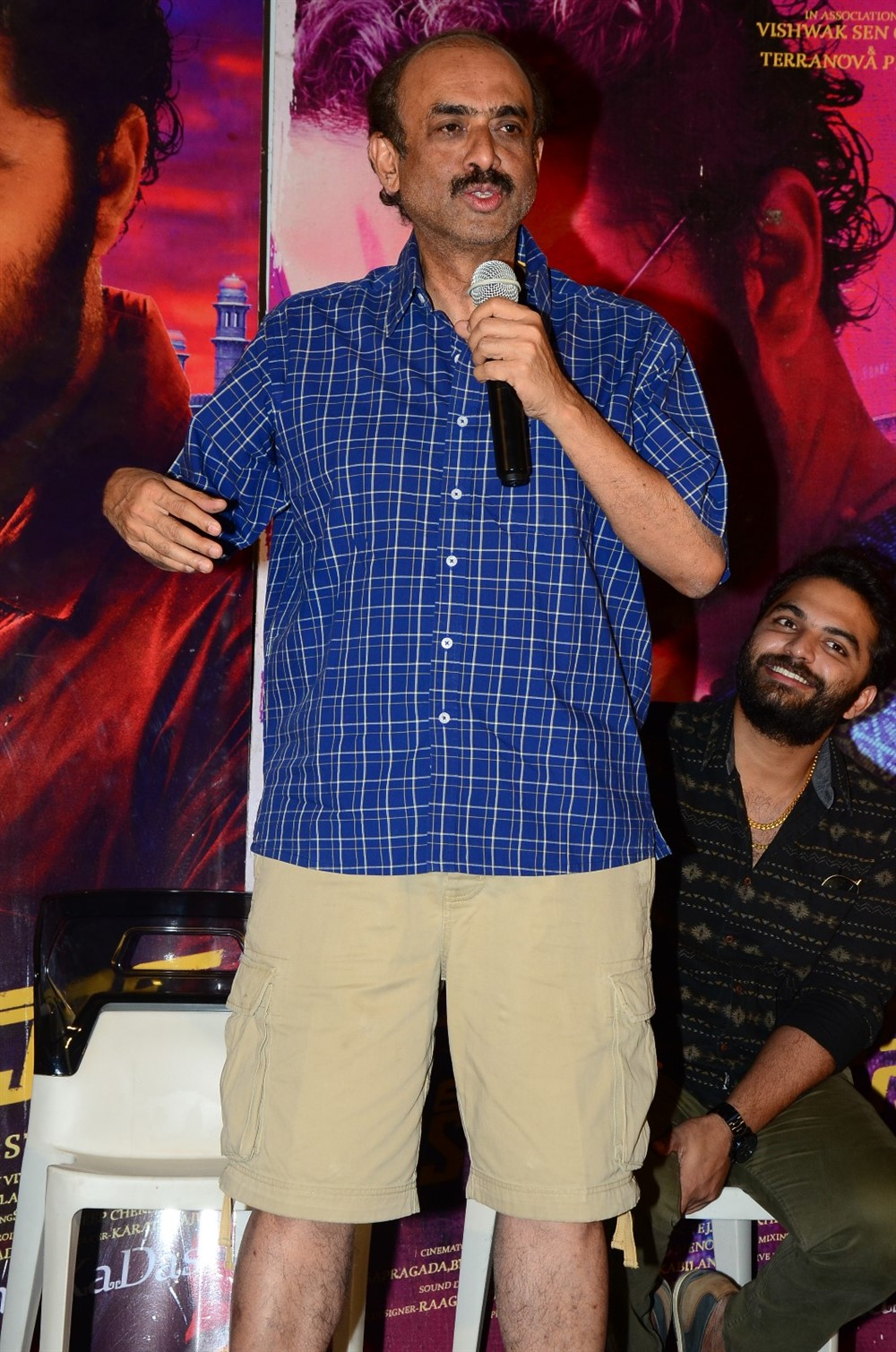 D Suresh Babu @ Falaknuma Das Press Meet Stills