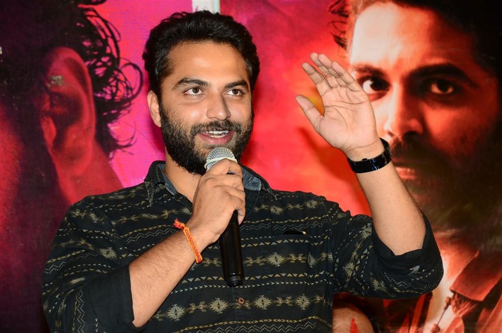 Falaknuma Das Movie Press Meet Stills