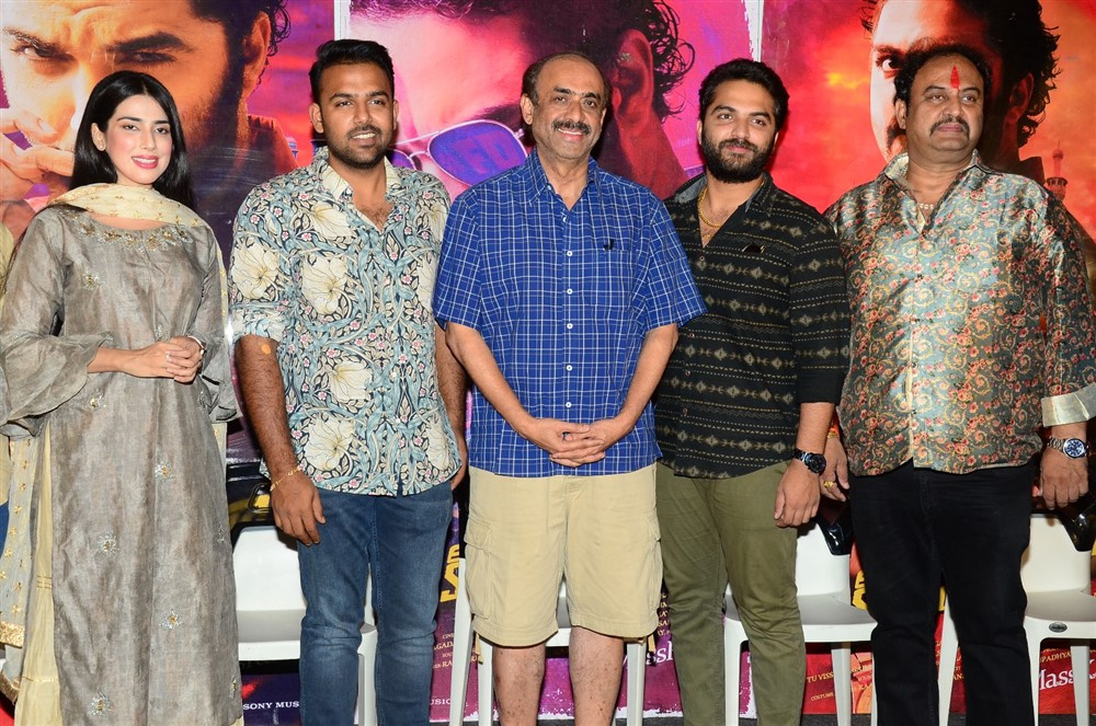 Falaknuma Das Movie Press Meet Stills