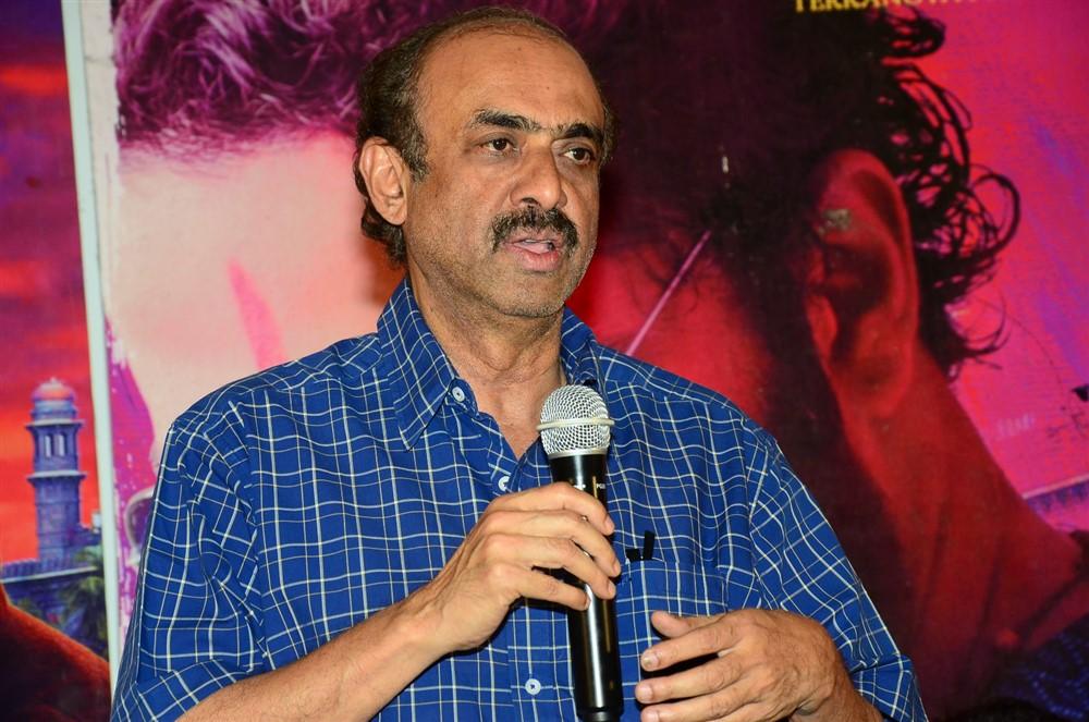 D Suresh Babu @ Falaknuma Das Press Meet Stills