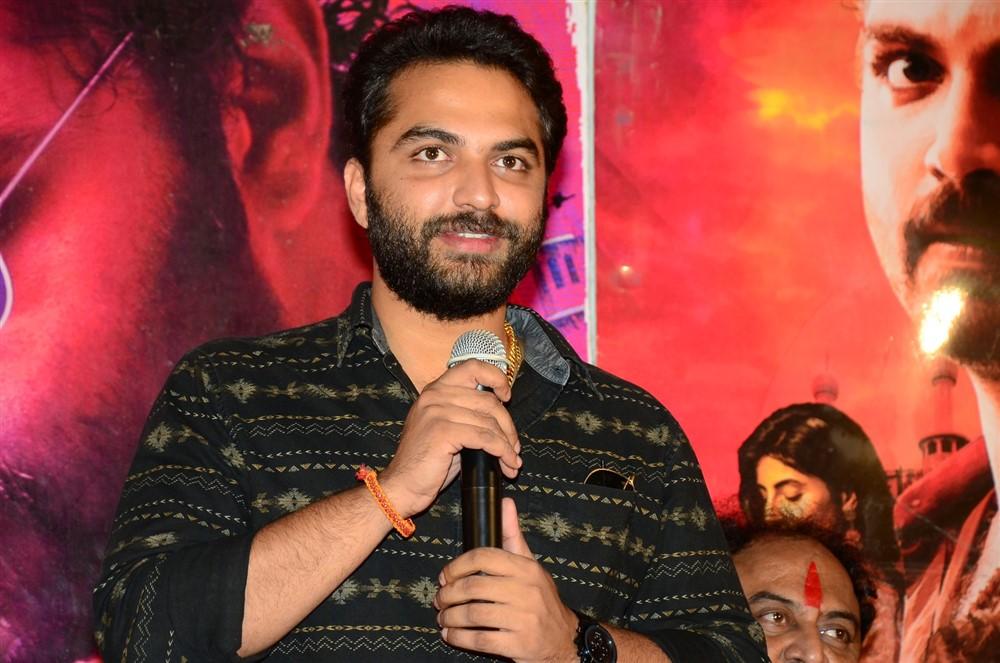 Vishwak Sen @ Falaknuma Das Movie Press Meet Stills