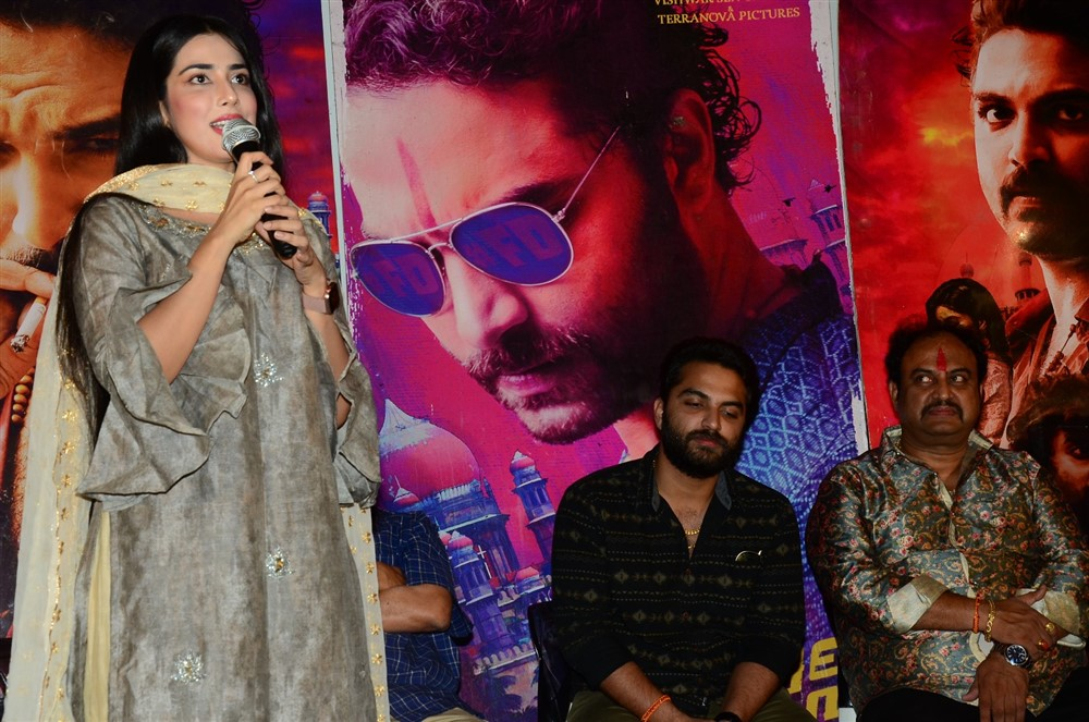 Prashanthi Charuolingah @ Falaknuma Das Movie Press Meet Stills