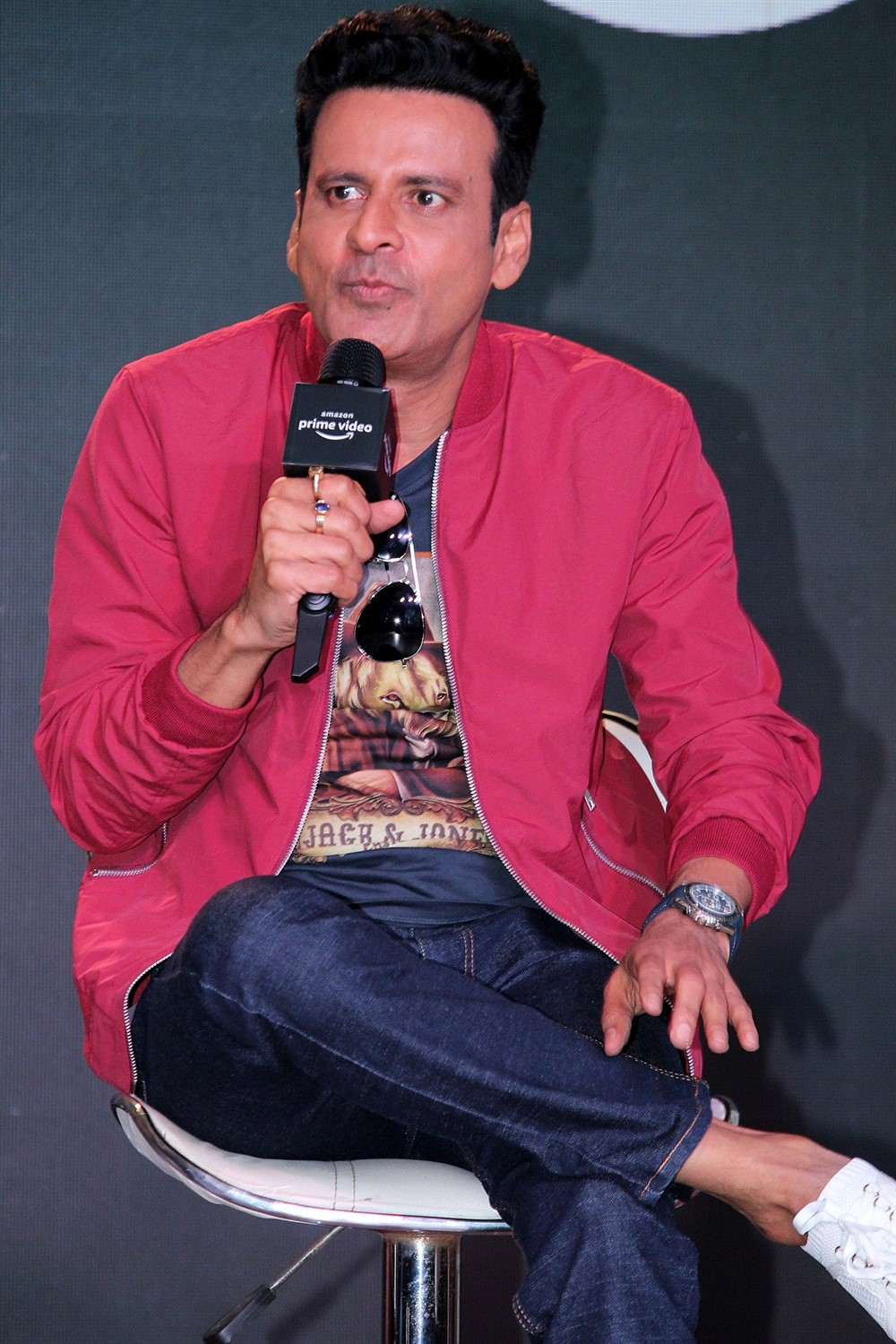 Manoj Bajpayee @ The Family Man Amazon Prime Series Press Conference Stills