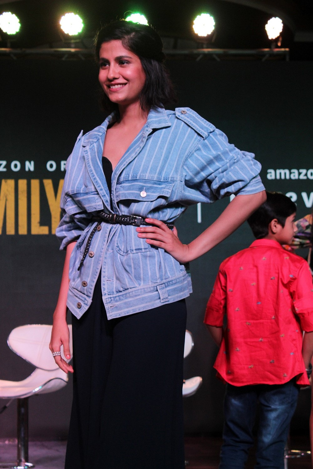 Shreya Dhanwanthary @ The Family Man Amazon Prime Series Press Conference Stills