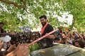 Fans disrupt Ram Charan's film shoot in Bhimavaram
