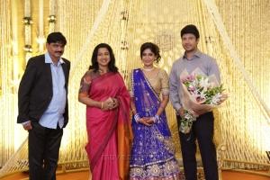 Radhika @ Feroz Vijayalakshmi Wedding Reception Stills