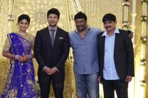 R Parthiban @ Feroz Vijayalakshmi Wedding Reception Stills
