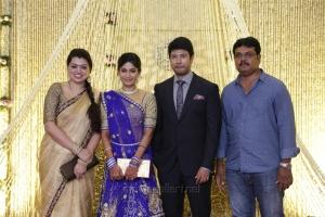Feroz Vijayalakshmi Wedding Reception Stills