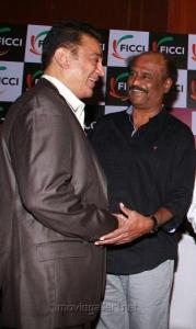 Kamal, Rajini at FICCI MEBC 2012 Honoring Legends Photos