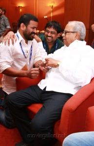Ameer, Lingusamy, K.Balachander at FICCI MEBC 2012 Honoring Legends Photos