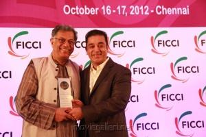 Girish Karnad, Kamal at FICCI Honoring Legends Stills