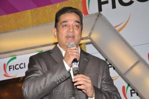 Actor Kamal at FICCI MEBC 2012 Honoring Legends Stills