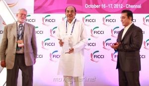 Barrie Osborne, D.Ramanaidu, Kamal at FICCI MEBC 2012 Honoring Legends Photos