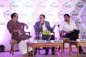 Gnani Sankaran, Prem Menon at FICCI 2012 Closing Ceremony Press Meet Photos