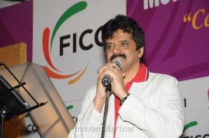 Singer Srinivas at FICCI 2012 Closing Ceremony Press Meet Photos