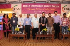 FICCI MEBC 2012 Closing Ceremony Press Meet Photos