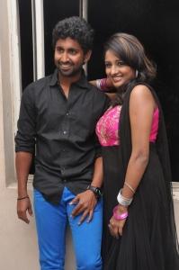 Mahendran, Amitha Rao @ First Love Movie Audio Release Photos