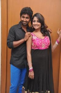 Mahendran, Amitha Rao @ First Love Movie Audio Launch Photos