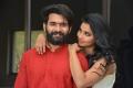 Akhil Sarthak, Anicka Vikhraman @ First Time Movie Opening Stills