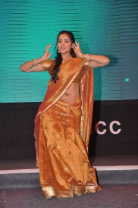 Manasa Himavarsha @ FNCC New Year Gala 2014 Celebrations Photos