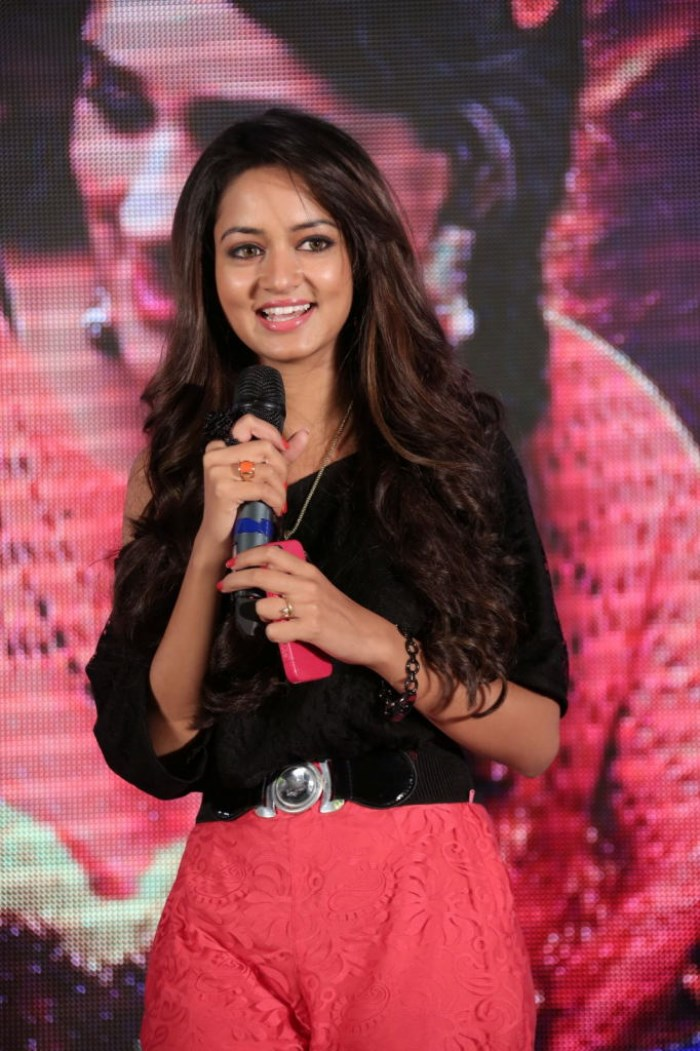 Actress Shanvi @ Gaallo Thelinattunde Movie Audio Launch Stills