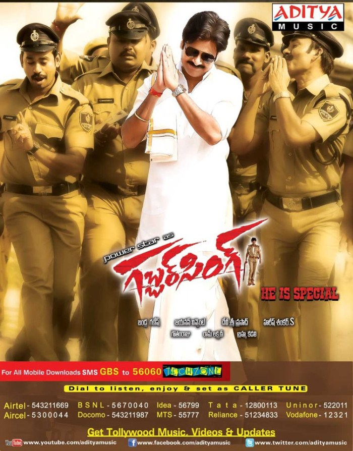 Picture 212087 Gabbar Singh Movie Latest Posters New Movie Posters