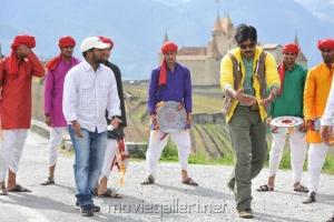 Gabbar Singh Swiss Shoot Working Stills