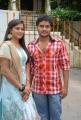 Chaitanya Nelli, Divya Rao at Gajadonga Telugu Movie Opening Stills