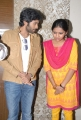 Vikram Prabhu, Lakshmi Menon at Gajaraju Movie Press Meet Photos