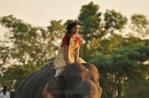 Actress Lakshmi Menon in Gajaraju Telugu Movie Stills