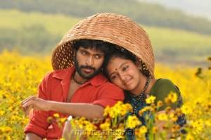 Vikram Prabhu, Lakshmi Menon in Gajaraju Movie Stills