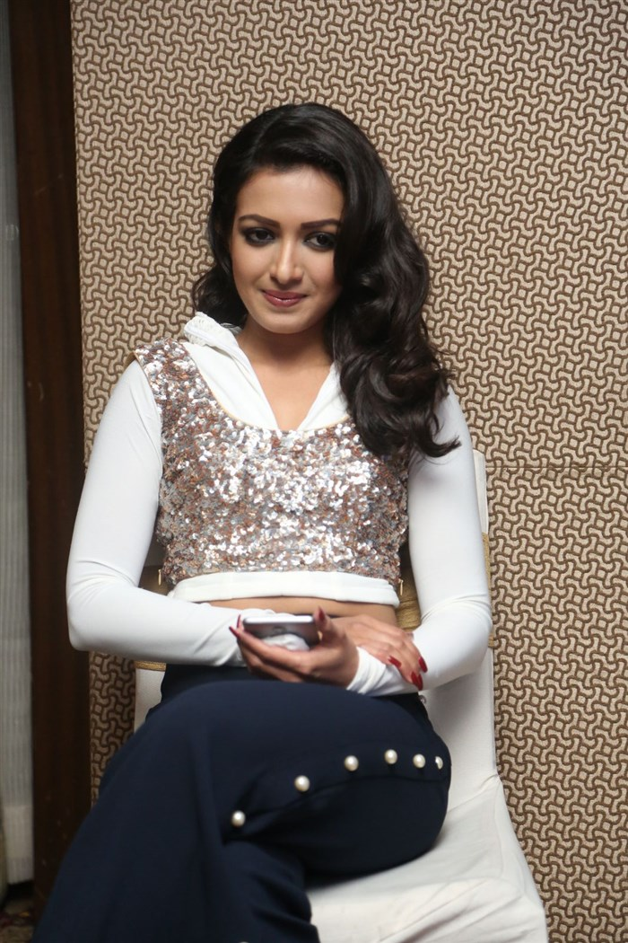 Actress Catherine Tresa @ Gajendrudu Audio Launch Stills