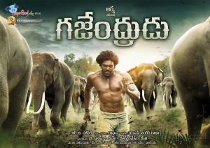 Actor Arya in Gajendrudu Movie Wallpapers