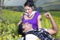 Sri, Haripriya in Galata Movie Photos @ Araku Location