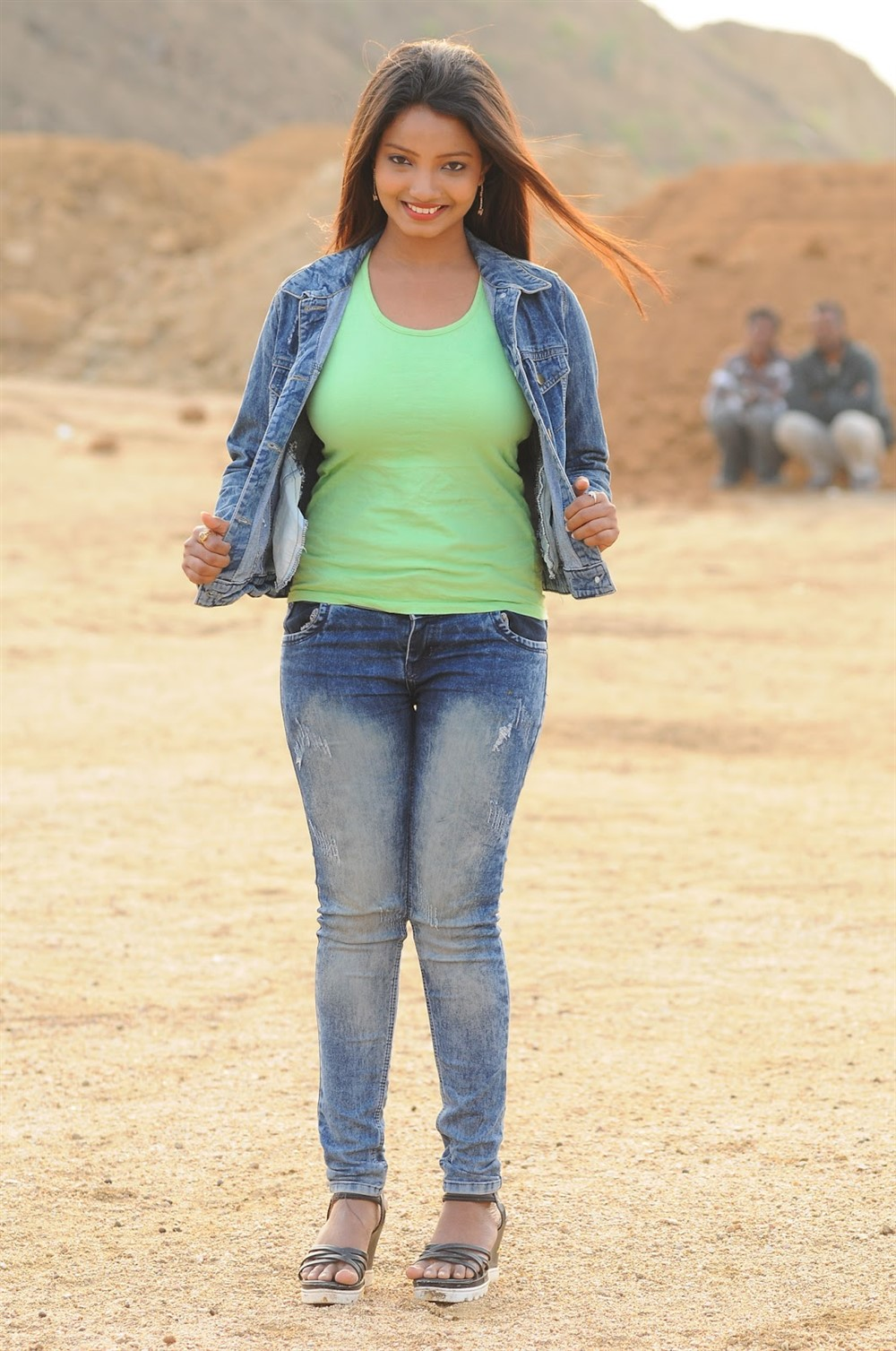 Actress Madhu Sri in Galipuram Junction Movie Stills