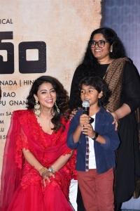 Shriya Saran, Sujana Rao @ Gamanam Movie Press Meet Stills