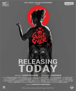 Taapsee Game Over Movie Release Today Posters