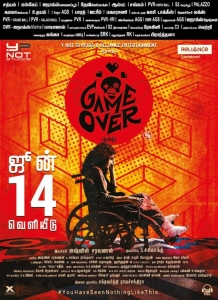Taapsee Game Over Movie Release Posters