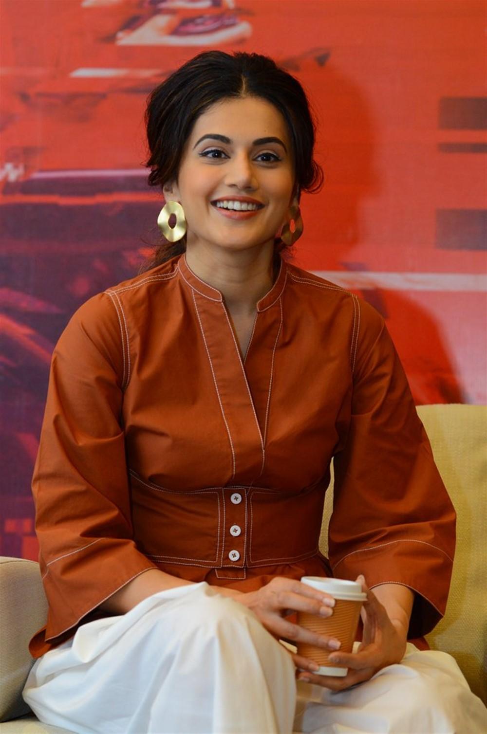 Heroine Taapsee Pannu @ Game Over Movie Interview Stills