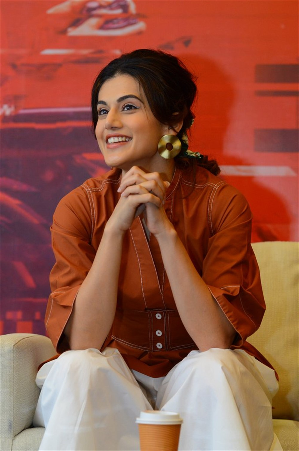 Heroine Taapsee Pannu @ Game Over Movie Interview Stills