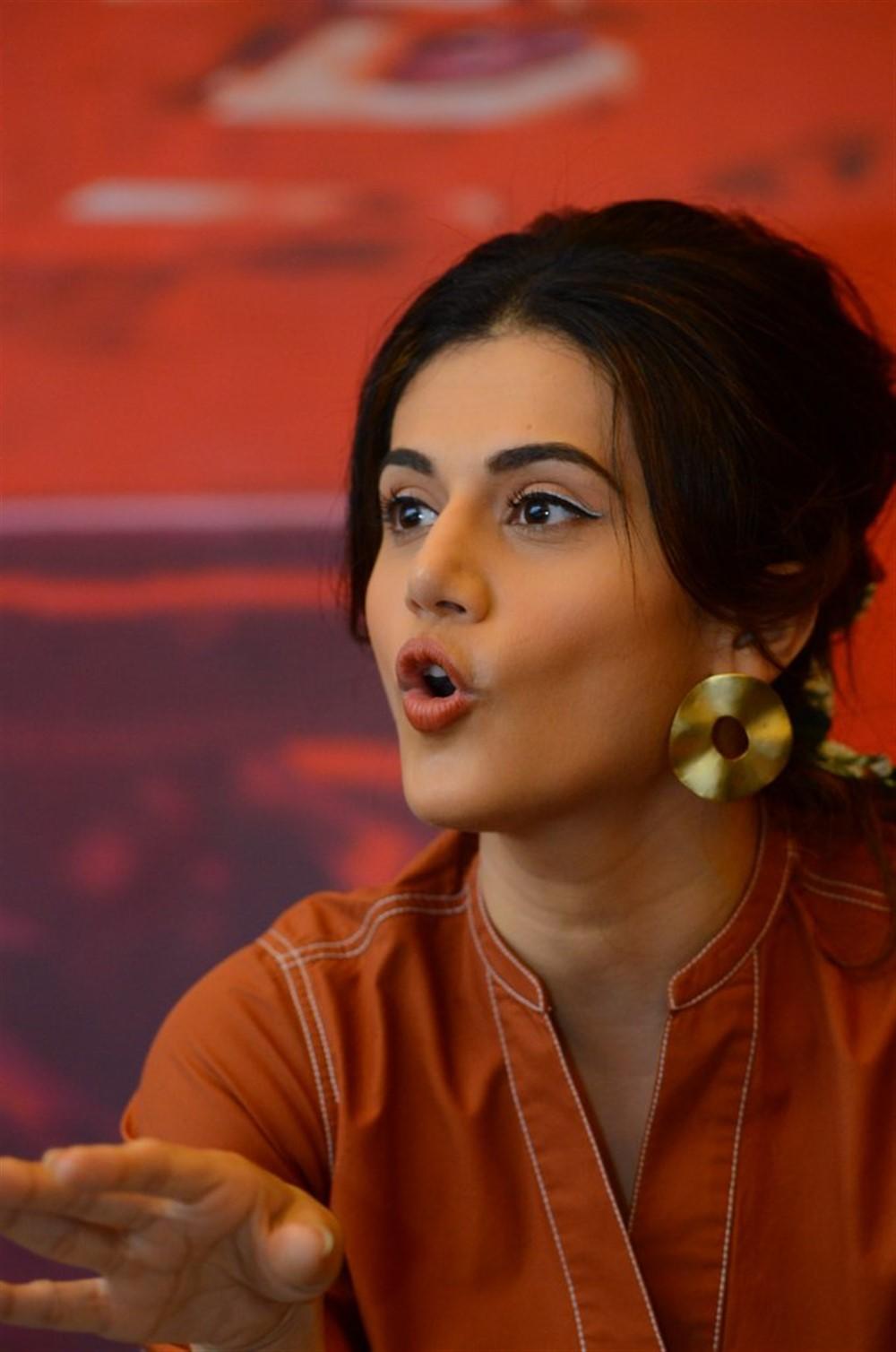 Game Over Movie Heroine Taapsee Pannu Interview Stills