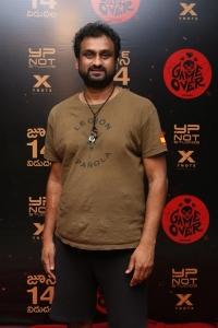 Mahi V Raghav @ Game Over Telugu Movie Preview Photos