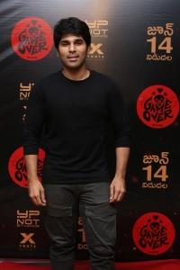 Allu Sirish @ Game Over Telugu Movie Preview Photos