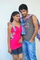 Anu Sri, Kiran at Gandikotalo Telugu Movie Press Meet Stills