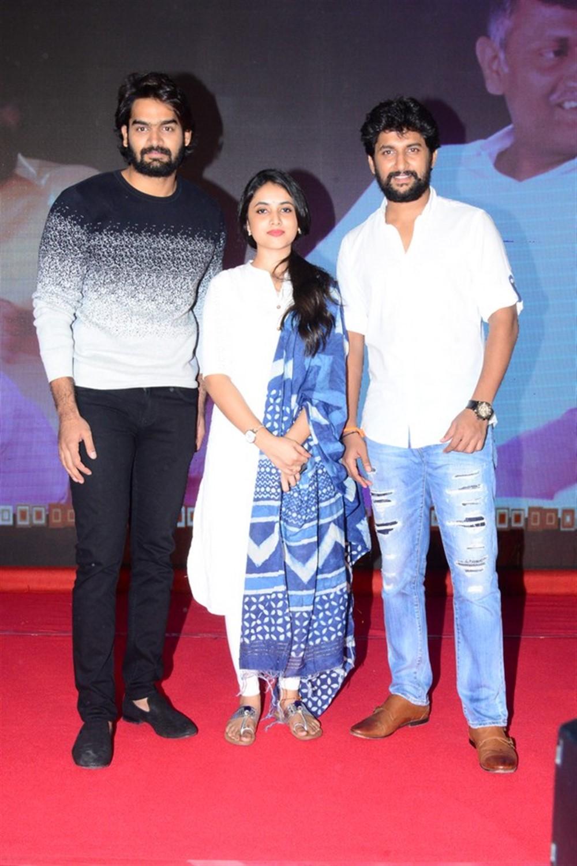 Kartikeya, Priyanka Arul Mohan, Nani @ Gang Leader Movie Team Meet Photos