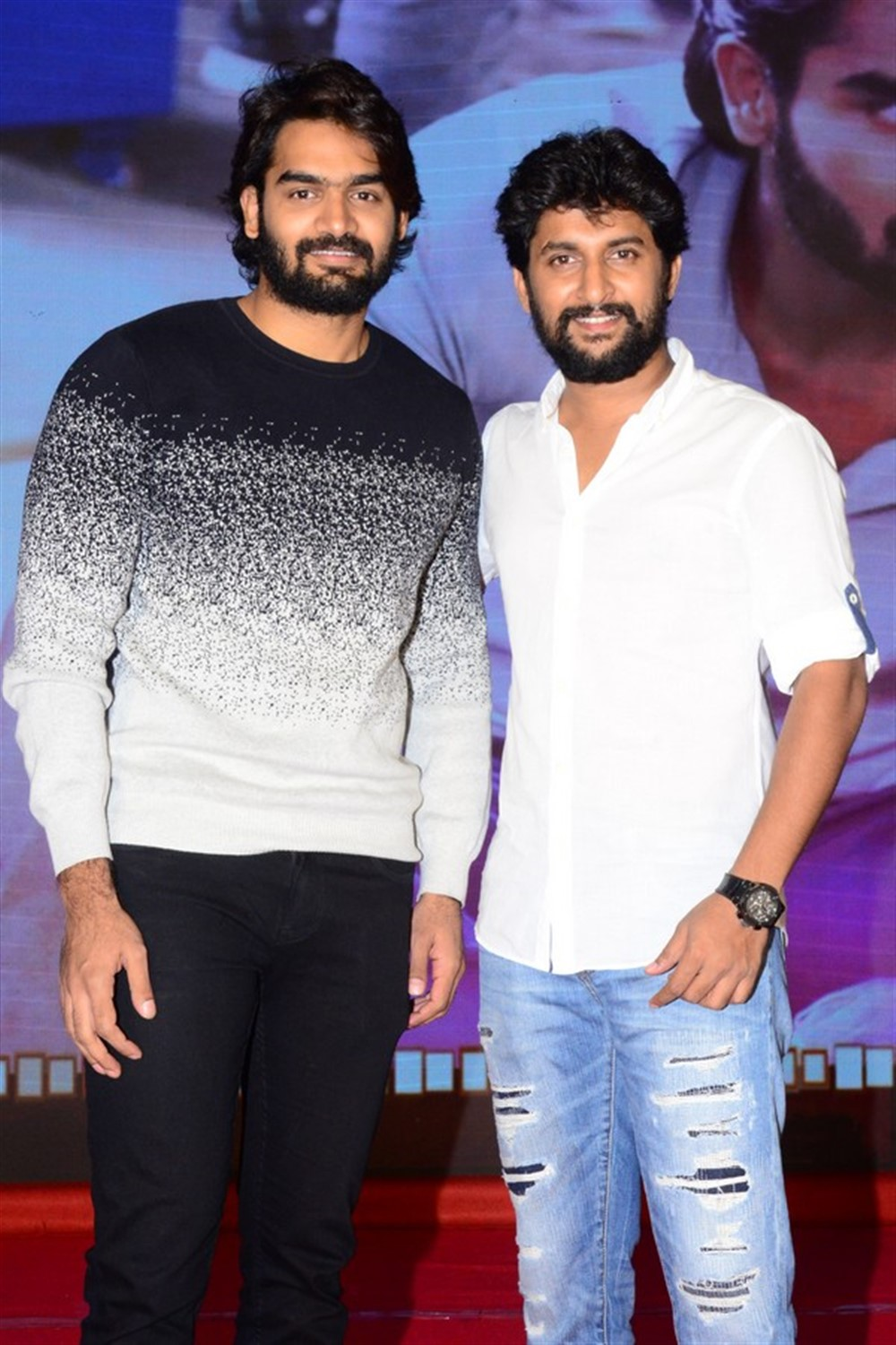 Kartikeya, Nani @ Gang Leader Movie Team Meet Photos