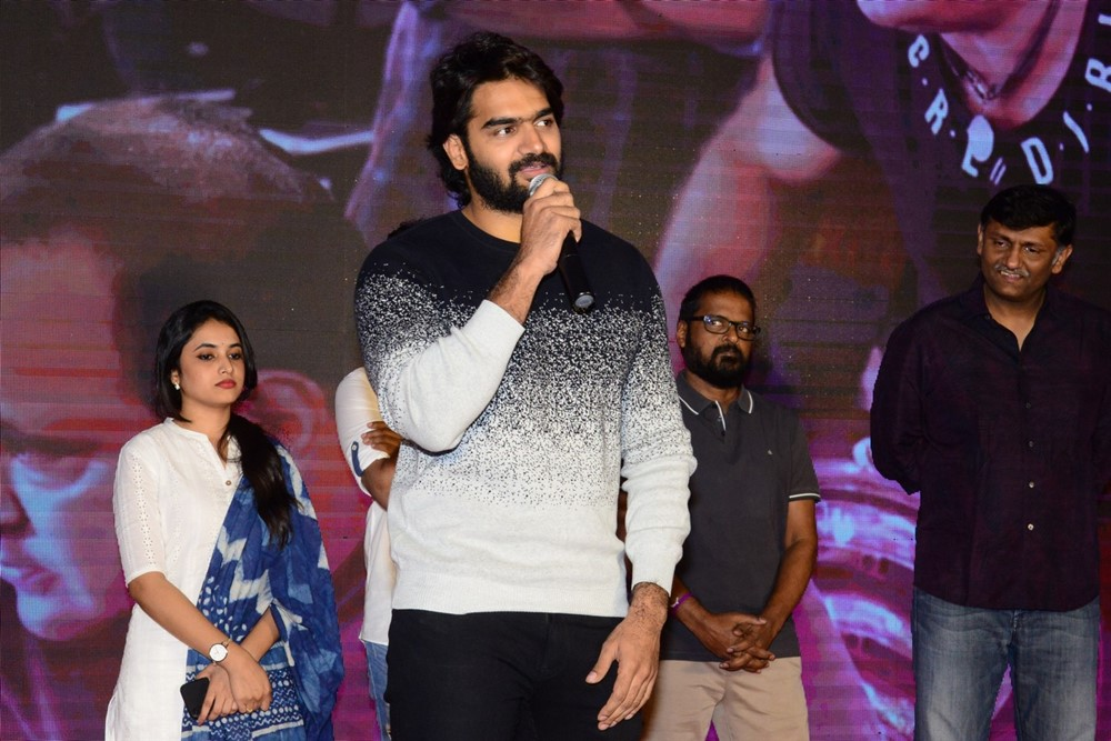 Actor Karthikeya @ Gang Leader Movie Team Meet Photos